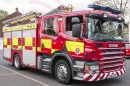 Fire crews scrambled after microwave fire in Hythe Flat