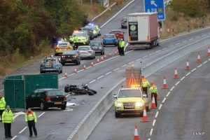 Overseas Lorry driver charged over M20 Motorcycle death