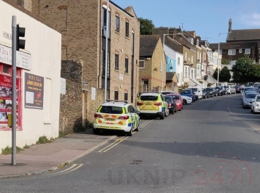 two arrests were made and drugs were seized by police in ramsgate