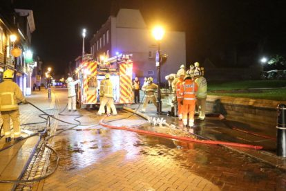 kent firefighters learn how to tackled potentially devastating fire at rochester cathedral 26