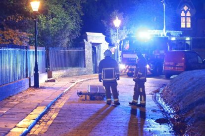 kent firefighters learn how to tackled potentially devastating fire at rochester cathedral 39