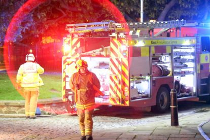 kent firefighters learn how to tackled potentially devastating fire at rochester cathedral 41