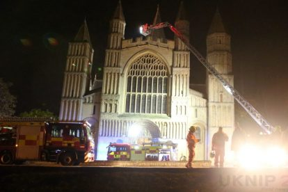 kent firefighters learn how to tackled potentially devastating fire at rochester cathedral 7