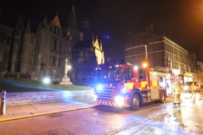 kent firefighters learn how to tackled potentially devastating fire at rochester cathedral 74