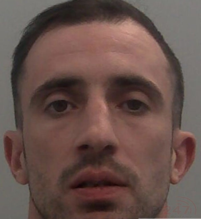 knife wielding robber jailed for eight years