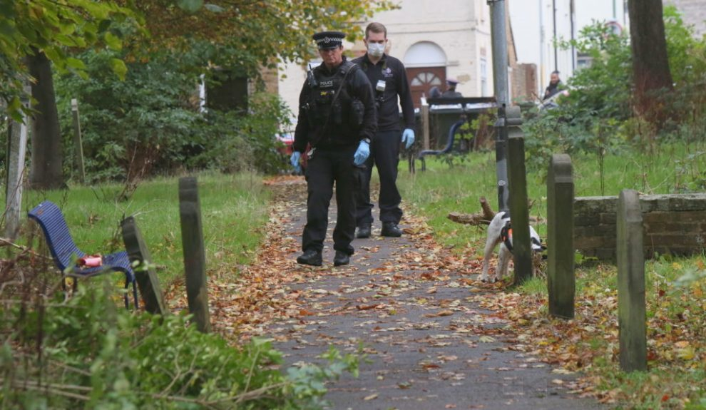 maidstone graveyard in lockdown after sex attack 1