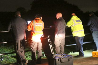 major search after someone is spotted in the water on the river medway 12