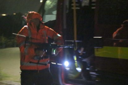 major search after someone is spotted in the water on the river medway 14