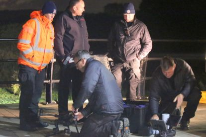 major search after someone is spotted in the water on the river medway 18