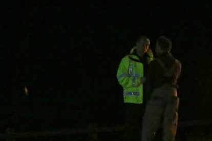 major search after someone is spotted in the water on the river medway 3