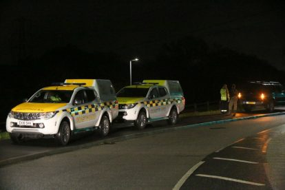 major search after someone is spotted in the water on the river medway 4