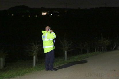 major search after someone is spotted in the water on the river medway 8