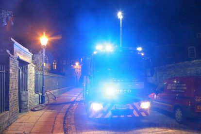 residents left homeless after blaze rips through basement in gillingham