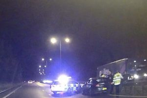 dramatic rush hour police shakedown on busy a2 near canterbury 1