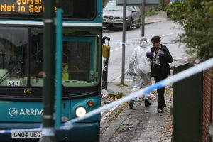 man airlifted to hospitial following borstal bus crash