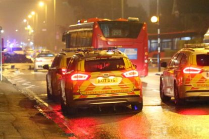 one dead after three vehicles horror collision involving two buses in orpington 10