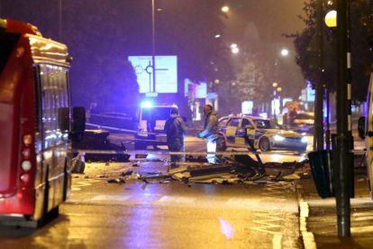 one dead after three vehicles horror collision involving two buses in orpington 12