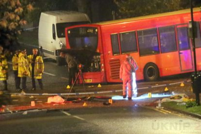 one dead after three vehicles horror collision involving two buses in orpington 16