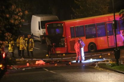 one dead after three vehicles horror collision involving two buses in orpington 17