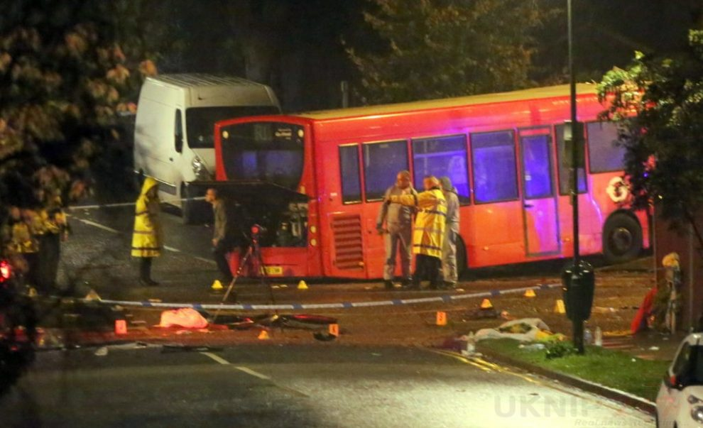 one dead after three vehicles horror collision involving two buses in orpington 18