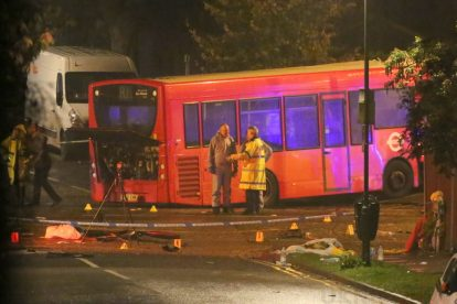 one dead after three vehicles horror collision involving two buses in orpington 19