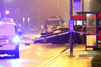 one dead after three vehicles horror collision involving two buses in orpington 20
