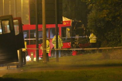 one dead after three vehicles horror collision involving two buses in orpington 27