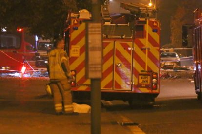 one dead after three vehicles horror collision involving two buses in orpington 29