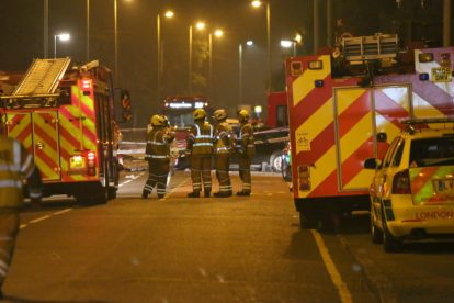 one dead after three vehicles horror collision involving two buses in orpington 30
