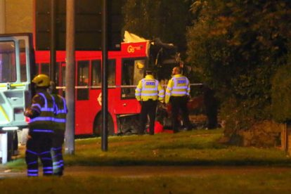 one dead after three vehicles horror collision involving two buses in orpington 33