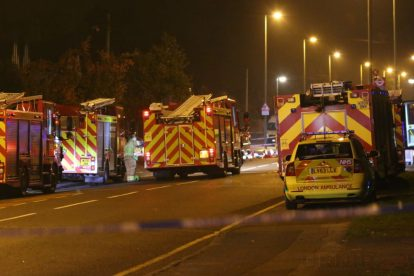 one dead after three vehicles horror collision involving two buses in orpington 34