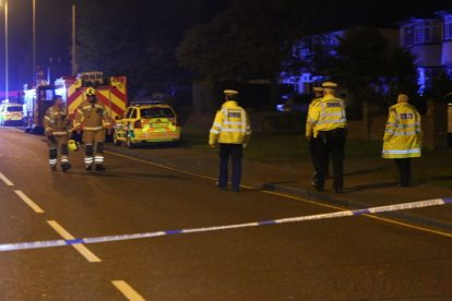 one dead after three vehicles horror collision involving two buses in orpington 35