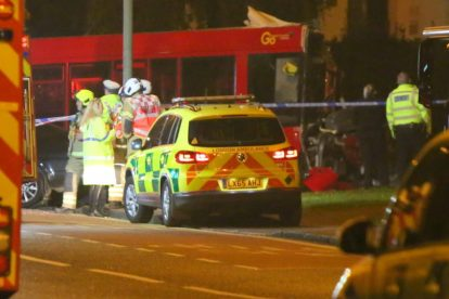 one dead after three vehicles horror collision involving two buses in orpington 38