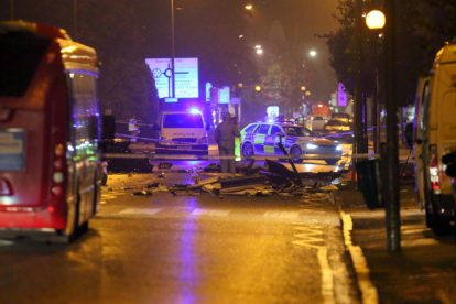 one dead after three vehicles horror collision involving two buses in orpington 4