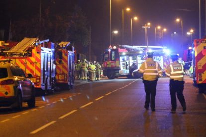 one dead after three vehicles horror collision involving two buses in orpington 40