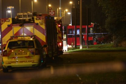one dead after three vehicles horror collision involving two buses in orpington 41