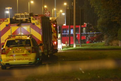 one dead after three vehicles horror collision involving two buses in orpington 42