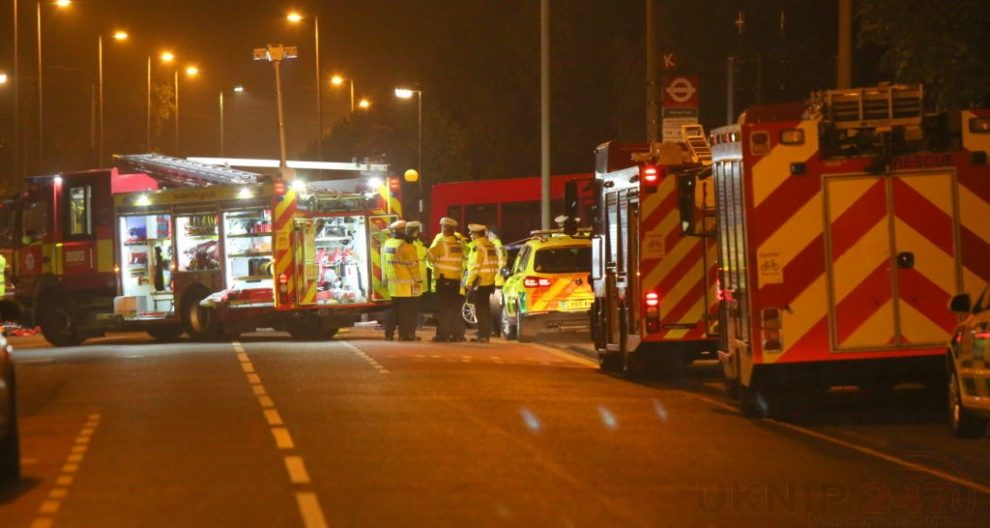 one dead after three vehicles horror collision involving two buses in orpington 44