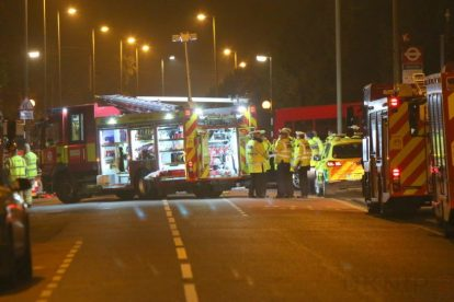 one dead after three vehicles horror collision involving two buses in orpington 45