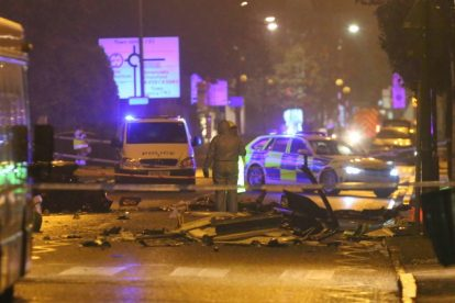one dead after three vehicles horror collision involving two buses in orpington 5