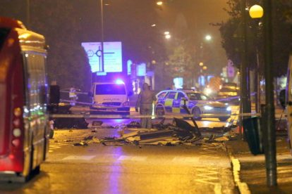 one dead after three vehicles horror collision involving two buses in orpington 6
