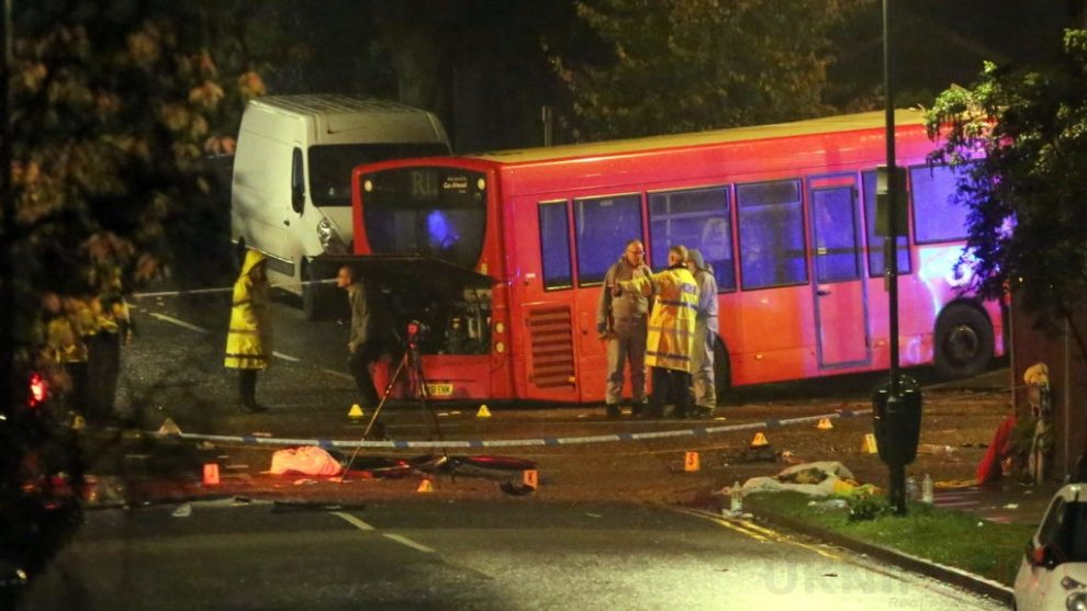 one dead after three vehicles horror collision involving two buses in orpington