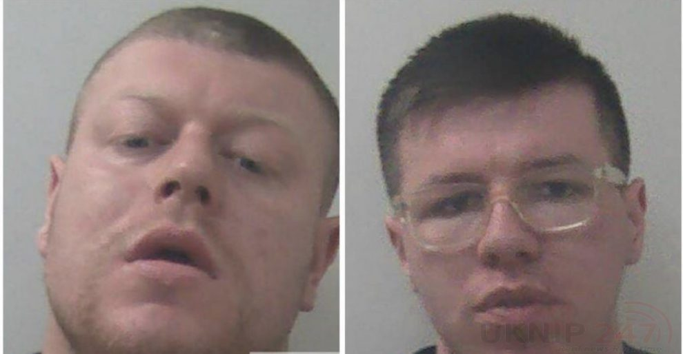 two men who deliberately placed needles and syringes in food products at an aylesford supermarket have been jailed 1