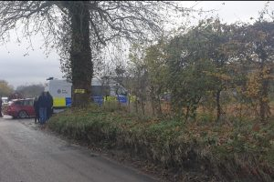valley road fawkham in lockdown after remains are found