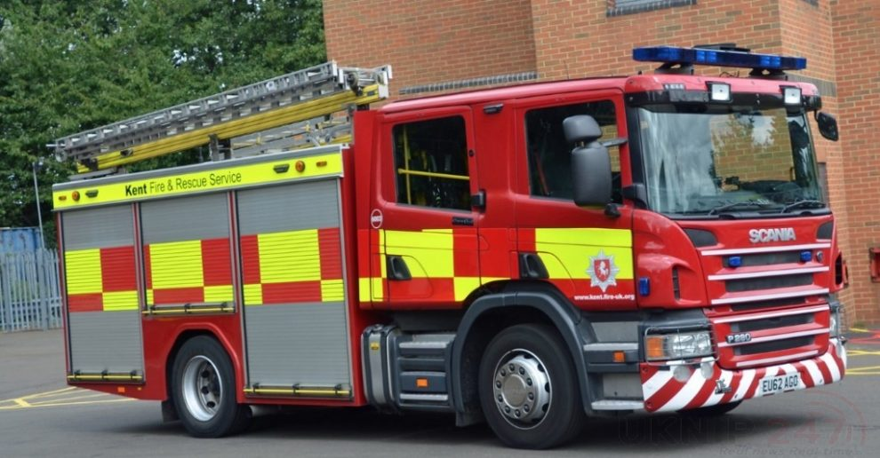 arson investigation launched car destroyed by fire in maidstone