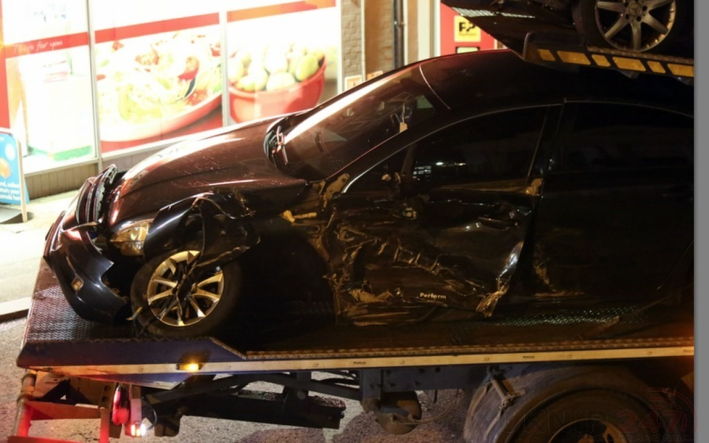 Man Narrowly Escaped Being Killed After Three Vehicles Collision In Dover