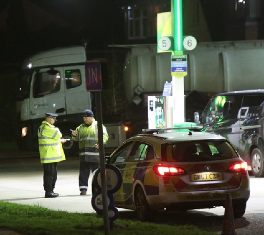 Man Rushed To Hospital Under Police Escort After Being Hit By Petrol Tanker On Sheppey