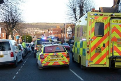 pedestrian left fighting for their life following collision with a car in folkestone 15