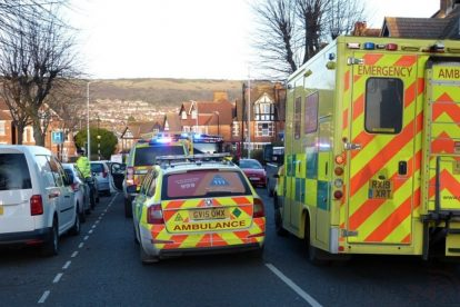 pedestrian left fighting for their life following collision with a car in folkestone 3