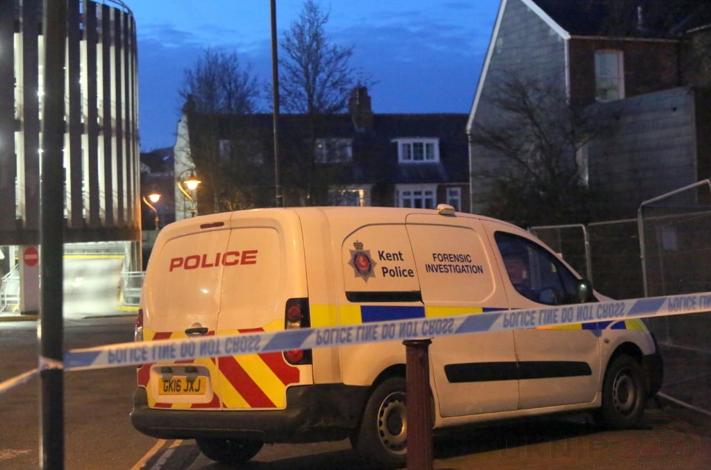 Police Cordon Off Multi-storey Car Park In Tunbridge Well After Fatality